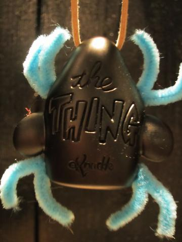 THE THING ROOM MIRROR MASCOT BLACK(COLLECTIBLES!!!)サブ画像